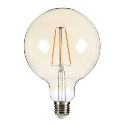 Żarówka LED Diall Filament Gold G125 E27 5,5 W 470 lm przezroczysta barwa ciepła (3663602838753)