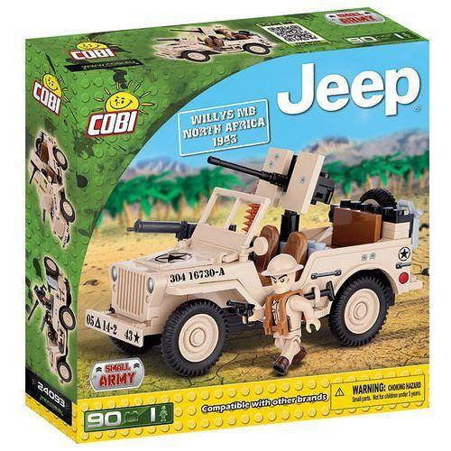 Cobi Klocki Jeep Willys MB Północna Afryka