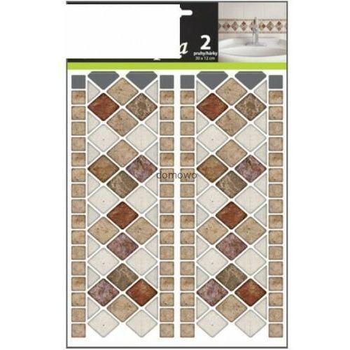 Andelprerov Imitacja płytek ściennych naklejki mozaika paski 2