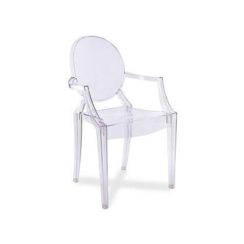 Krzesło transparentne przezroczyste king marki Gockowiak