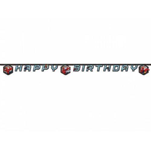 Procos disney Baner urodzinowy happy birthday ultimate spiderman - 180 cm - 1 szt.