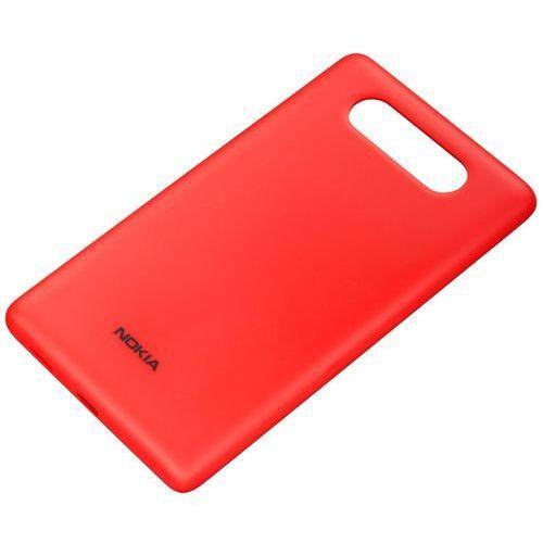 Obudowa do ładowania bezprzewodowego Nokia CC-3041 Czerwony Matt do Lumia 820 | Teraz w SUPER CENIE - Red Matt