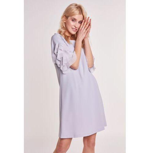 Szara sukienka, 1 rozmiar