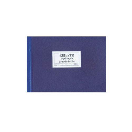 Rejestr wydanych przedmiotw [Pu/Wkt-105] (5907510474978)