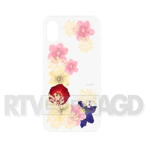 Flavr Etui iplate real flower grace do apple iphone x wielokolorowy (30111) (4029948066165)