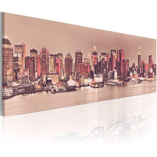 Obraz - nowy jork - miasto światła marki Artgeist