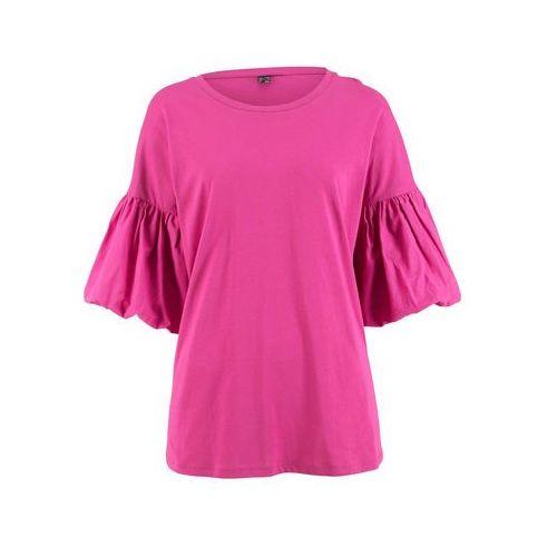 Shirt rozpinany bonprix szary melanż