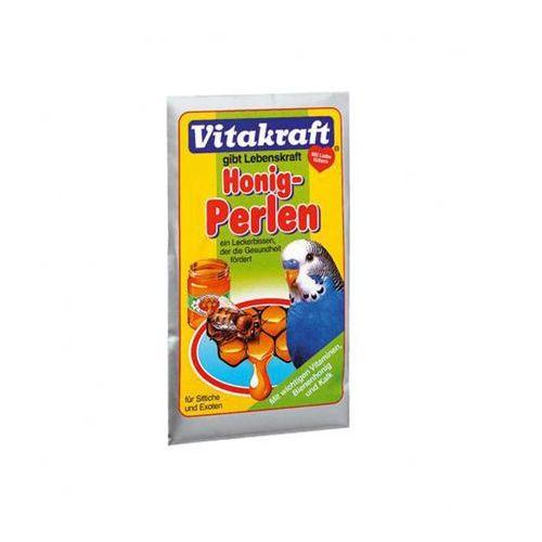 VITAKRAFT Honig Perlen - pokarm z miodem dla papugi falistej 20g z kategorii Pokarmy dla ptaków