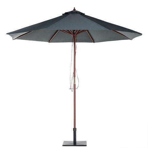 Beliani Parasol ogrodowy Ø270 cm ciemnoszary toscana ii