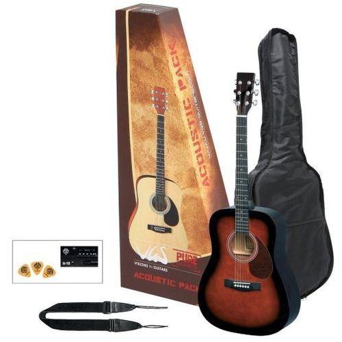 Gewa (ps502212) gitara akustyczna vgs acoustic pack gitara violinburst