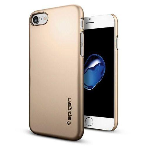 Spigen thin fit 042cs20732 iphone 7 (złoty) (8809466648243)