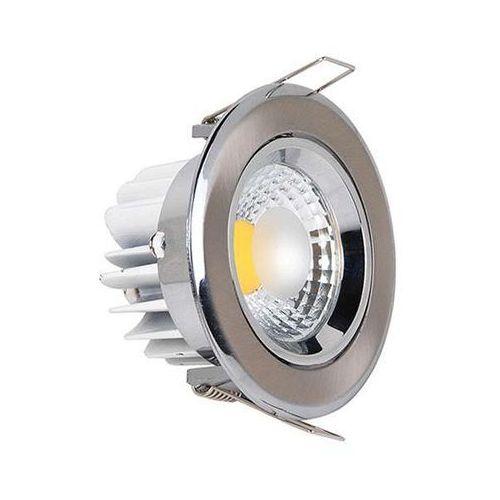 Oczko LAMPA sufitowa HL699L 02271 Ideus podtynkowa OPRAWA metalowa LED 5W okrągły WPUST minimalistyczny satyna, 02271