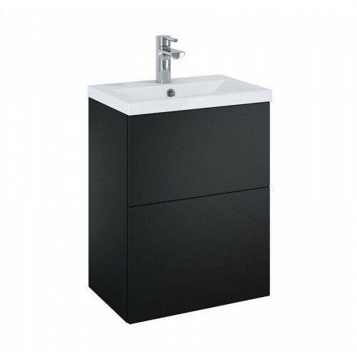 ELITA SET szafka + umywalka Kido 50 2S black matt 168098