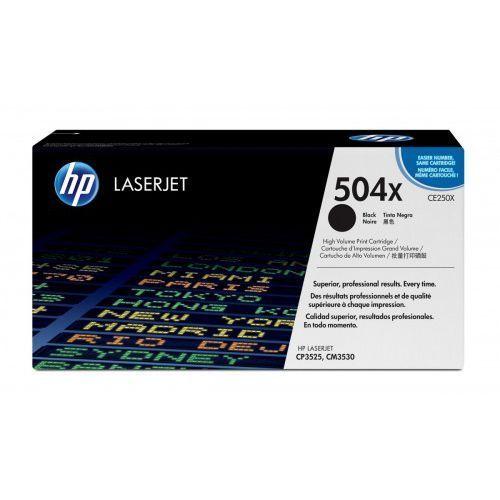 HP Inc. Toner CP3525 Czarny 10.5k CP3525/CM3530 CE250X