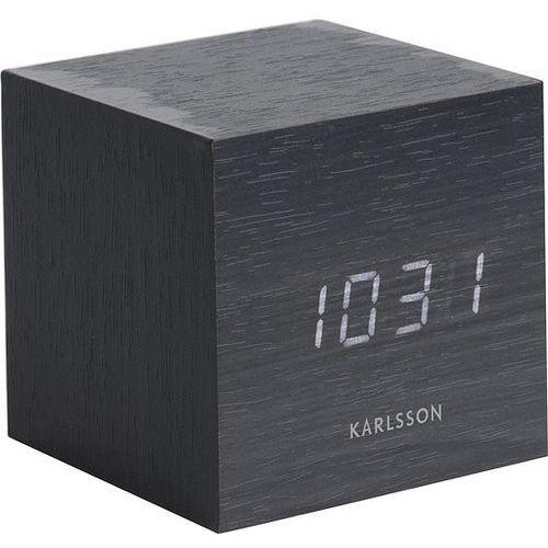 Karlsson Mini Cube Black Alarm clock, KA5655BK
