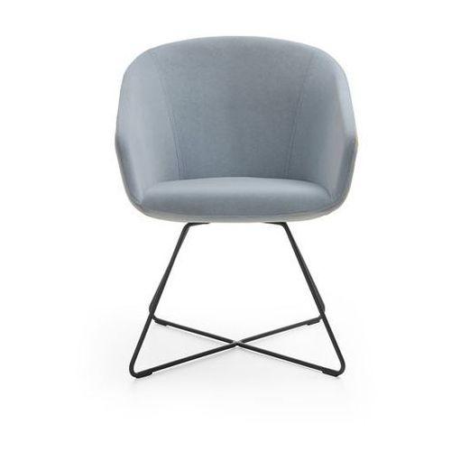 Fotel  occo oc 290 w jednym kolorze tkaniny marki Bejot