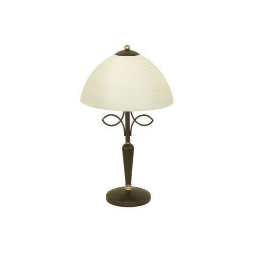 Eglo 89136 - lampa stołowa beluga 1xe27/60w antyczny brąz (9002759891367)