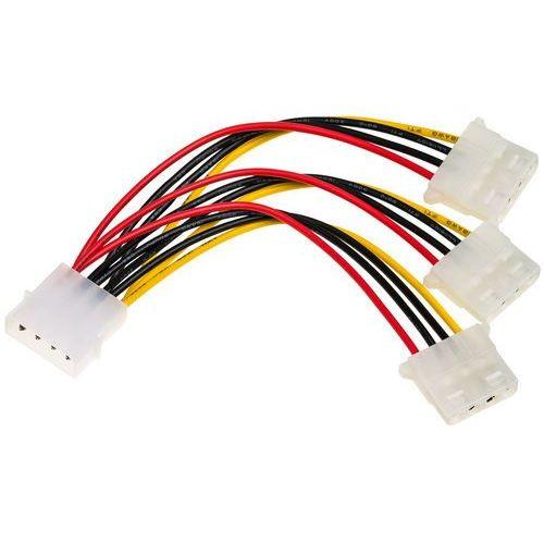 Akyga Kabel zasilający kabel zasilający akyga ak-ca-40 ( molex - 3x molex f-m pvc 0,15m ) - ak-ca-40 darmowy odbiór w 21 miastach! (5901720133212)