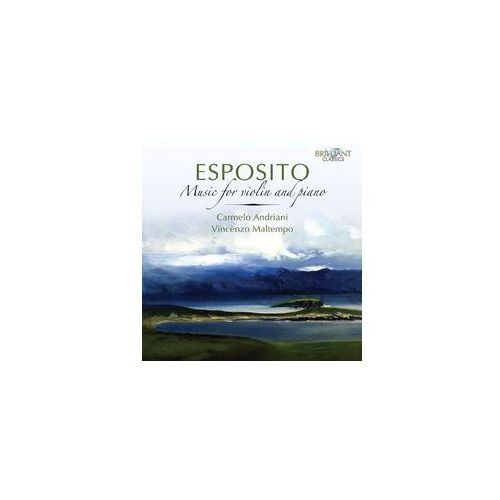 Brilliant classics Esposito: music for piano & violin (5028421951027)