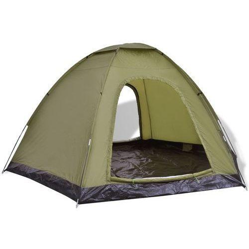 Vidaxl  6-osobowy namiot zielony (8718475960980)