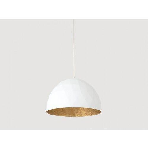 Lampa wisząca Customform LEONARD L - złoto-biały, LP001LEN-50-1901 (10211739)