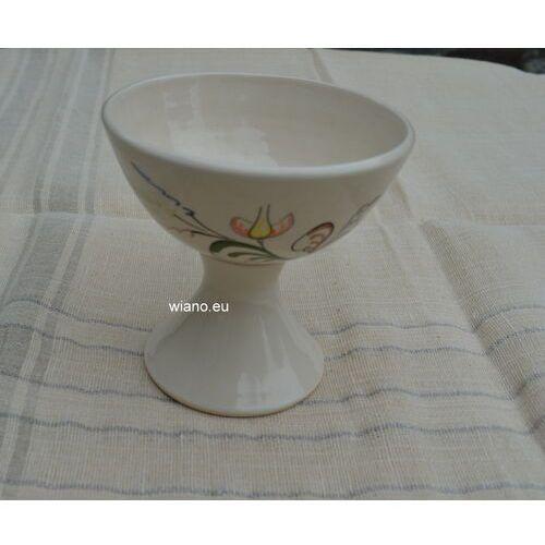Garncarstwo - ceramika bolimowska - pucharek do lodów marki Twórca ludowy