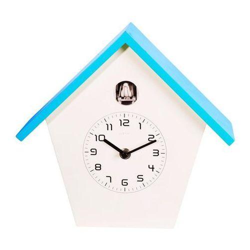 Zegar ścienny birdy niebieski marki Nextime