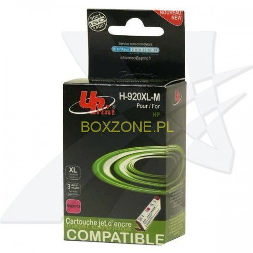 Uprint  kompatybilny ink z cd973ae, hp 920xl, magenta, 12ml, h-920xlm, dla hp officejet