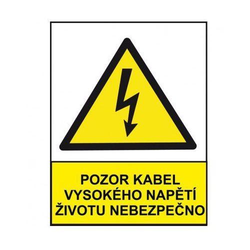 B2b partner Uwaga, kabel wysokiego napięcia niebezpieczny dla życia