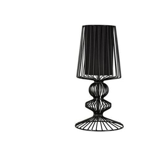Nowodvorski Druciana lampa stołowa aveiro black wys. 43cm 5411 + rabat w koszyku za ilość!!! - czarny \ 43