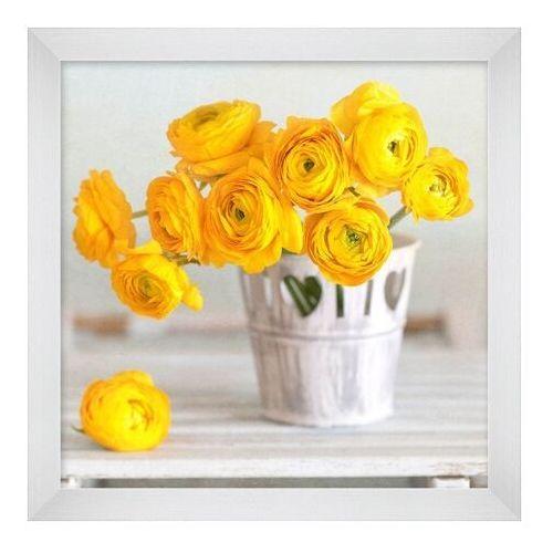 Obraz 20 x 20 cm Żółty bukiet (5901554535732)