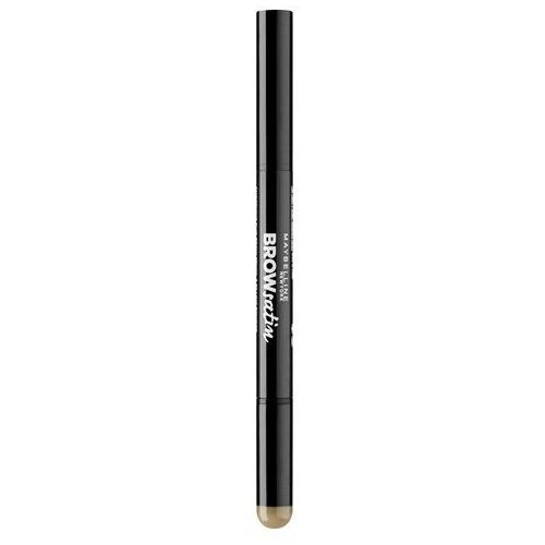 MAYBELLINE Brow Satin Duo Pencil kosmetyki damskie - kredka do brwi Medium Brown, 3600531087388