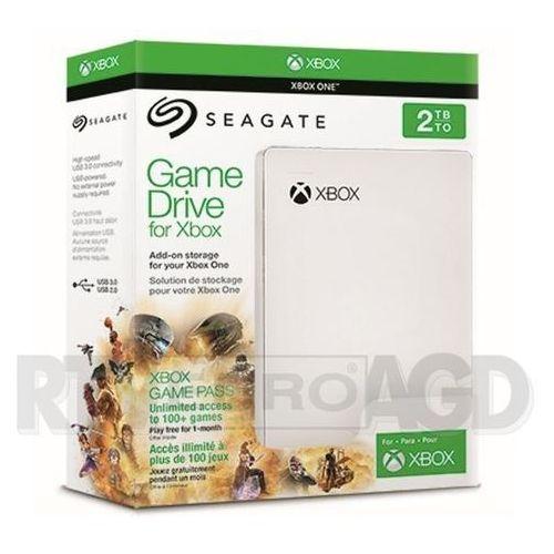 Seagate Game Drive 2TB dla Xbox edycja Xbox Game Pass STEA2000417 - produkt w magazynie - szybka wysyłka!, STEA2000417
