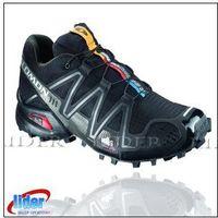 Obuwie męskie SALOMON SPEEDCROSS 3 Black/Black 127609, kolor czarny
