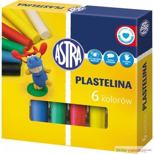 Astra, Plastelina, 6 kolorów, 48562