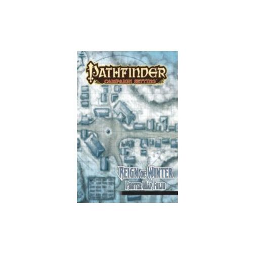 Pathfinder Campaign Setting: Reign of Winter Poster Map Foli (9781601255426)