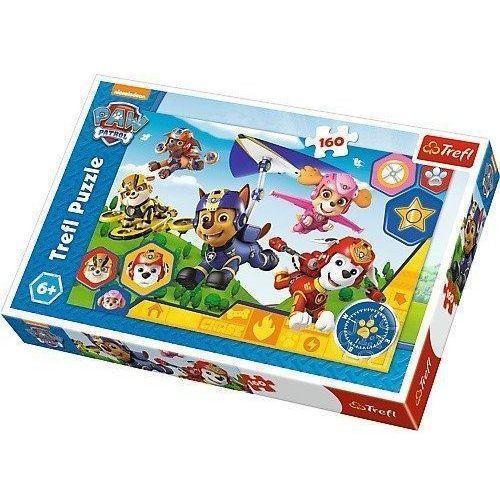 Trefl Puzzle 160 psi patrol gotowi do pomocy (5900511153637)