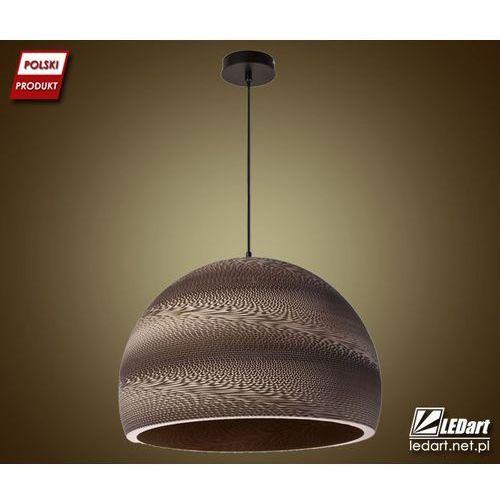 Sigma Lampa wisząca arte brązowa designerska (5902335263080)