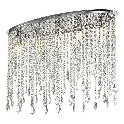 Plafon Italux Kaas MA04928C-005 lampa sufitowa 5x40W E14 chrom / kryształ, MA04928C-005