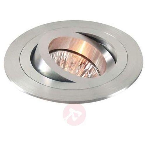 Deko-light Wychylny pierścień wpuszczany matowe aluminium (4042943105028)