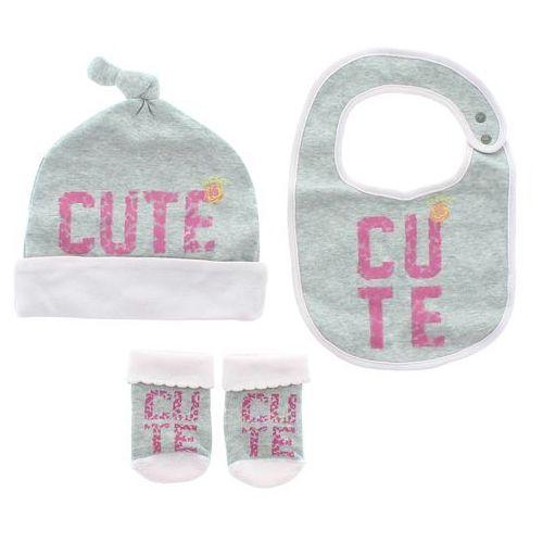 Diesel  zestaw dziecięcy dla niemowląt różowy szary 3-6 months, kategoria: komplety odzieży dla dzieci