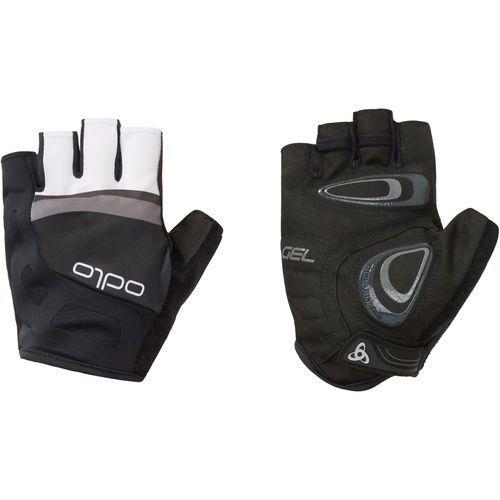 rękawiczki rowerowe endurance gloves short black - odlo graphite grey s marki Odlo