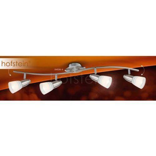 Globo caleb lampa sufitowa nikiel matowy, chrom, 4-punktowe - nowoczesny/lokum dla młodych/wesoły, śmieszny - obszar wewnętrzny - caleb - czas dostawy: od 4-8 dni roboczych (9007371280483)