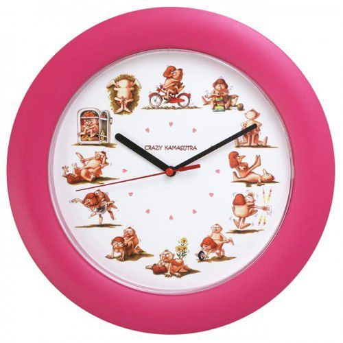 Zegar ścienny Crazy Kamasutra, ATE820KS