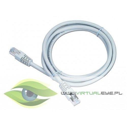 Patch cord ekranowany FTP kat.6 osłonka zal. 20M szary (8716309045445)