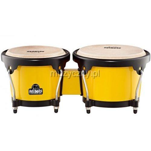 Nino 17Y-BK bongosy 6 1/2″ + 7 1/2″ (żółte)