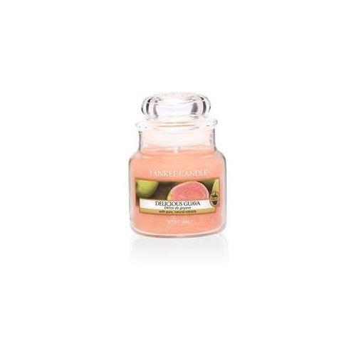 Yankee candle Świeca zapachowa mały słój delicious guava 104g