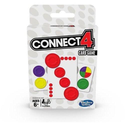 Hasbro Gra karciana connect 4 card game