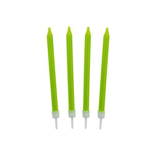 Świeczki urodzinowe zielone - 10 szt. marki Godan
