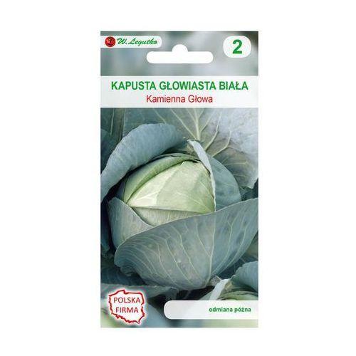 W. legutko Kapusta głowiasta biała kamienna głowa nasiona tradycyjne 2 g (5903837436262)